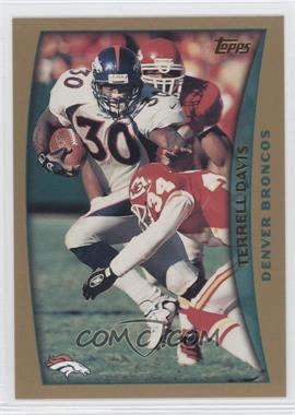 1998 Topps Pre-Production #PP4 - Terrell Davis