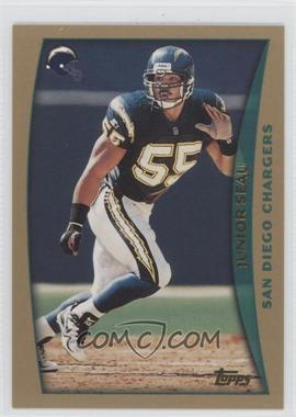 1998 Topps Pre-Production #PP6 - Junior Seau