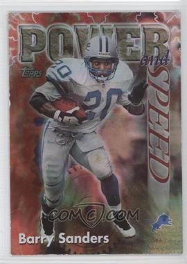 1998 Topps Season's Best #2 - Barry Sanders