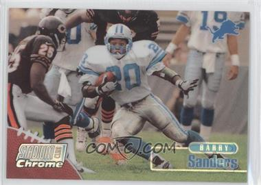 1998 Topps Stadium Club Chrome Refractor #SCC10 - Barry Sanders
