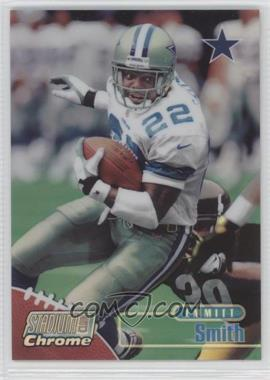1998 Topps Stadium Club Chrome Refractor #SCC6 - Emmitt Smith