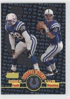Peyton Manning, Marshall Faulk