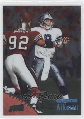 1998 Topps Stadium Club One of a Kind #80 - Troy Aikman /150