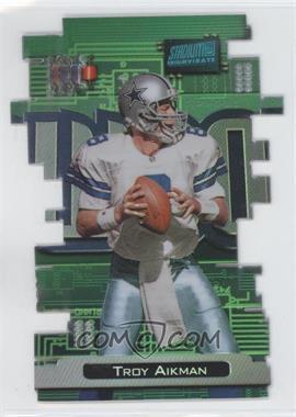 1998 Topps Stadium Club Triumvirate Luminescent #T4B - Troy Aikman