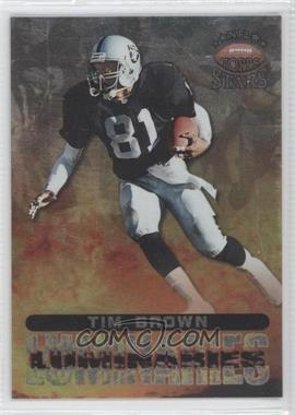 1998 Topps Stars Luminaries Silver #L8 - Tim Brown /75