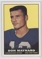 Don Maynard