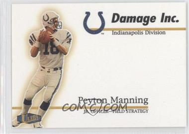 1998 Ultra Damage Inc. #12 DI - Peyton Manning