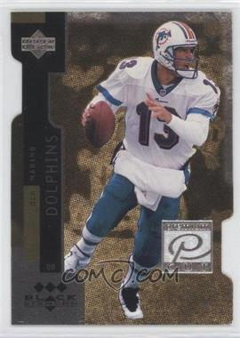 1998 Upper Deck Black Diamond - Premium Cut - Triple Diamond #PC13 - Dan Marino