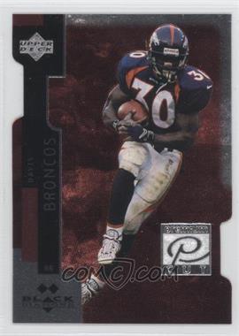 1998 Upper Deck Black Diamond Premium Cut Double Diamond #PC30 - Terrell Davis