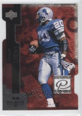 1998 Upper Deck Black Diamond Premium Cut Double Diamond #PC5 - Barry Sanders