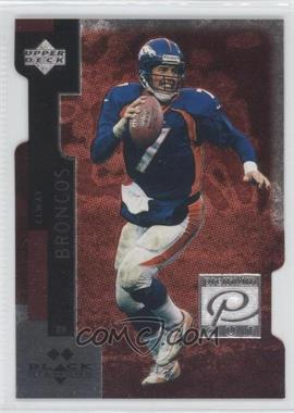 1998 Upper Deck Black Diamond Premium Cut Double Diamond #PC7 - John Elway