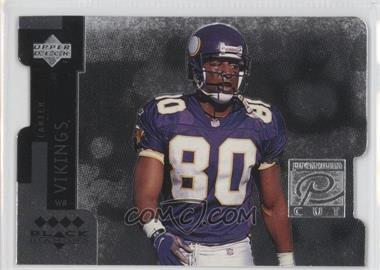 1998 Upper Deck Black Diamond Premium Cut Quadruple Diamond Horizontal #PC29 - Cris Carter
