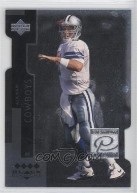 1998 Upper Deck Black Diamond Premium Cut Quadruple Diamond #PC2 - Troy Aikman