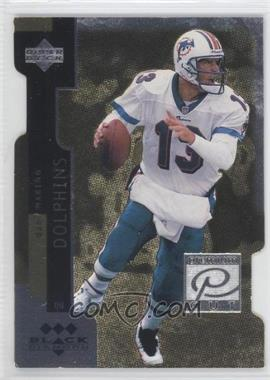 1998 Upper Deck Black Diamond Premium Cut Triple Diamond #PC13 - Dan Marino