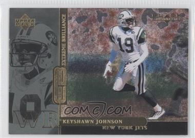 1998 Upper Deck Black Diamond Rookies - Extreme Brilliance #B18 - Keyshawn Johnson /19