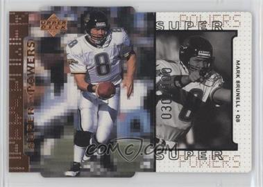 1998 Upper Deck Bronze Die-Cut Quantum #S13 - Mark Brunell /100