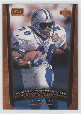 1998 Upper Deck Bronze #105 - Barry Sanders /100