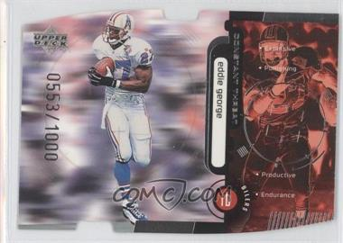 1998 Upper Deck Constant Threat Silver Die-Cut #CT27 - Eddie George /1000