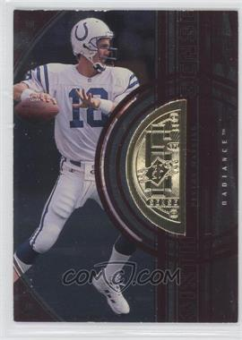 1998 Upper Deck SPx Finite - [Base] - Radiance #351 - Peyton Manning /900