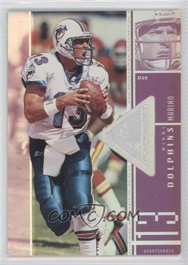 1998 Upper Deck SPx Finite - [Base] - Spectrum #103 - Dan Marino /1375