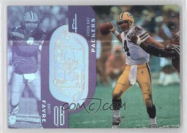 1998 Upper Deck SPx Finite - [Base] - Spectrum #224 - Brett Favre /325