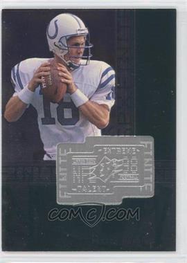 1998 Upper Deck SPx Finite - [Base] #287 - Peyton Manning /7200