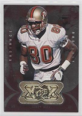 1998 Upper Deck SPx Finite Radiance #165 - Jerry Rice /1000