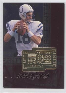 1998 Upper Deck SPx Finite Radiance #287 - Peyton Manning /3600