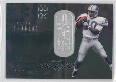 1998 Upper Deck SPx Finite #172 - Barry Sanders /1250