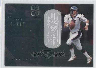 1998 Upper Deck SPx Finite #177 - John Elway /1250