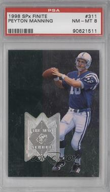 1998 Upper Deck SPx Finite #311 - Peyton Manning /4000 [PSA 8]