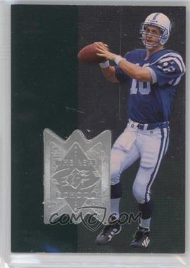 1998 Upper Deck SPx Finite #311 - Peyton Manning /4000