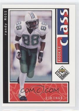 1998 Upper Deck UD Choice - [Base] #200 - Randy Moss