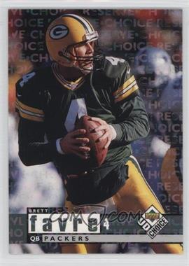 1998 Upper Deck UD Choice Choice Reserve #64 - Brett Favre