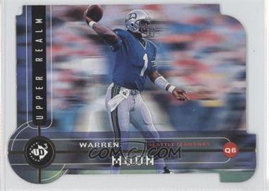 1998 Upper Deck UD3 Die-Cut #UR77 - Warren Moon