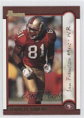 1999 Bowman - [Base] - Gold #87 - Terrell Owens /99