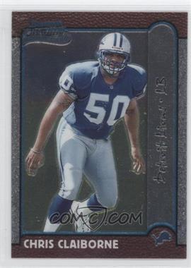 1999 Bowman Chrome #160 - Chris Claiborne