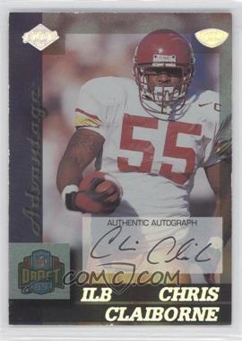 1999 Collector's Edge Advantage - [Base] - Rookie Autographs [Autographed] #158 - Chris Claiborne