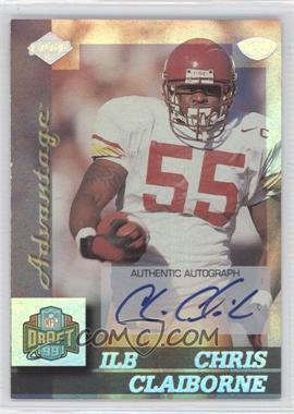 1999 Collector's Edge Advantage Rookie Autographs [Autographed] #158 - Chris Claiborne
