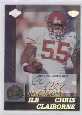1999 Collector's Edge Advantage Rookie Autographs [Autographed] #158 - Chris Claiborne