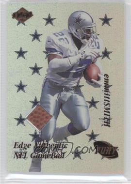 1999 Collector's Edge Fury Game Ball #ES - Emmitt Smith