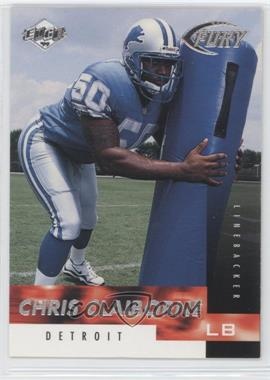 1999 Collector's Edge Fury #158 - Chris Claiborne