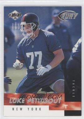 1999 Collector's Edge Fury #190 - Luke Petitgout