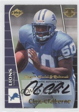 1999 Collector's Edge Triumph [???] #N/A - Chris Claiborne