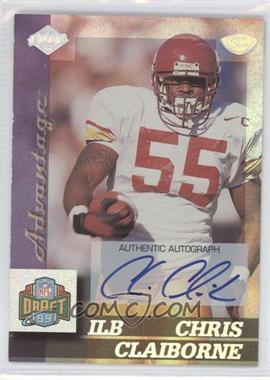 1999 Edge Advantage Rookie Autographs [Autographed] #158 - Chris Claiborne
