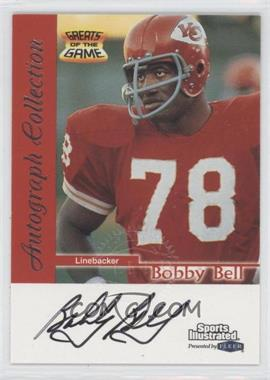 1999 Fleer Sports Illustrated Autograph Collection #BOBE - Bobby Bell