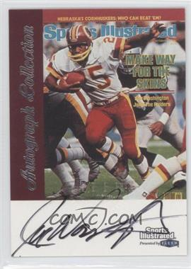 1999 Fleer Sports Illustrated Autograph Collection #JOWA - Joe Washington