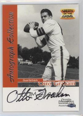 1999 Fleer Sports Illustrated Autograph Collection #OTGR - Otto Graham