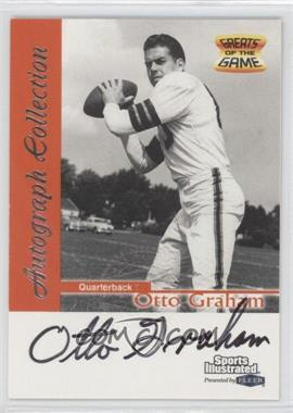 1999 Fleer Sports Illustrated Autograph Collection #OTGR - Otto Graham