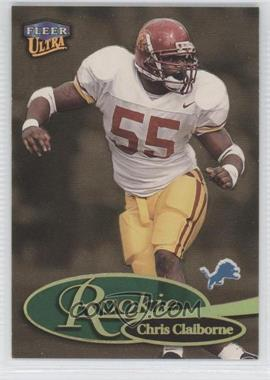 1999 Fleer Ultra Gold Medallion Edition #263RG - Chris Claiborne